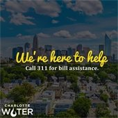 Call 311 for bill assistance
