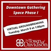 Gathering Space Groundbreaking graphic