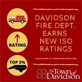 Davidson Fire Dept earns new ISO Rating