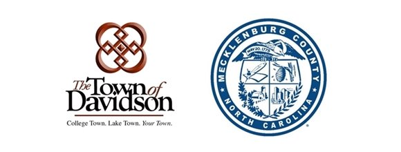 Town and Mecklenburg County logos