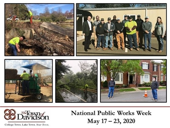 National Public Works Week, May 17 – May 23, 2020