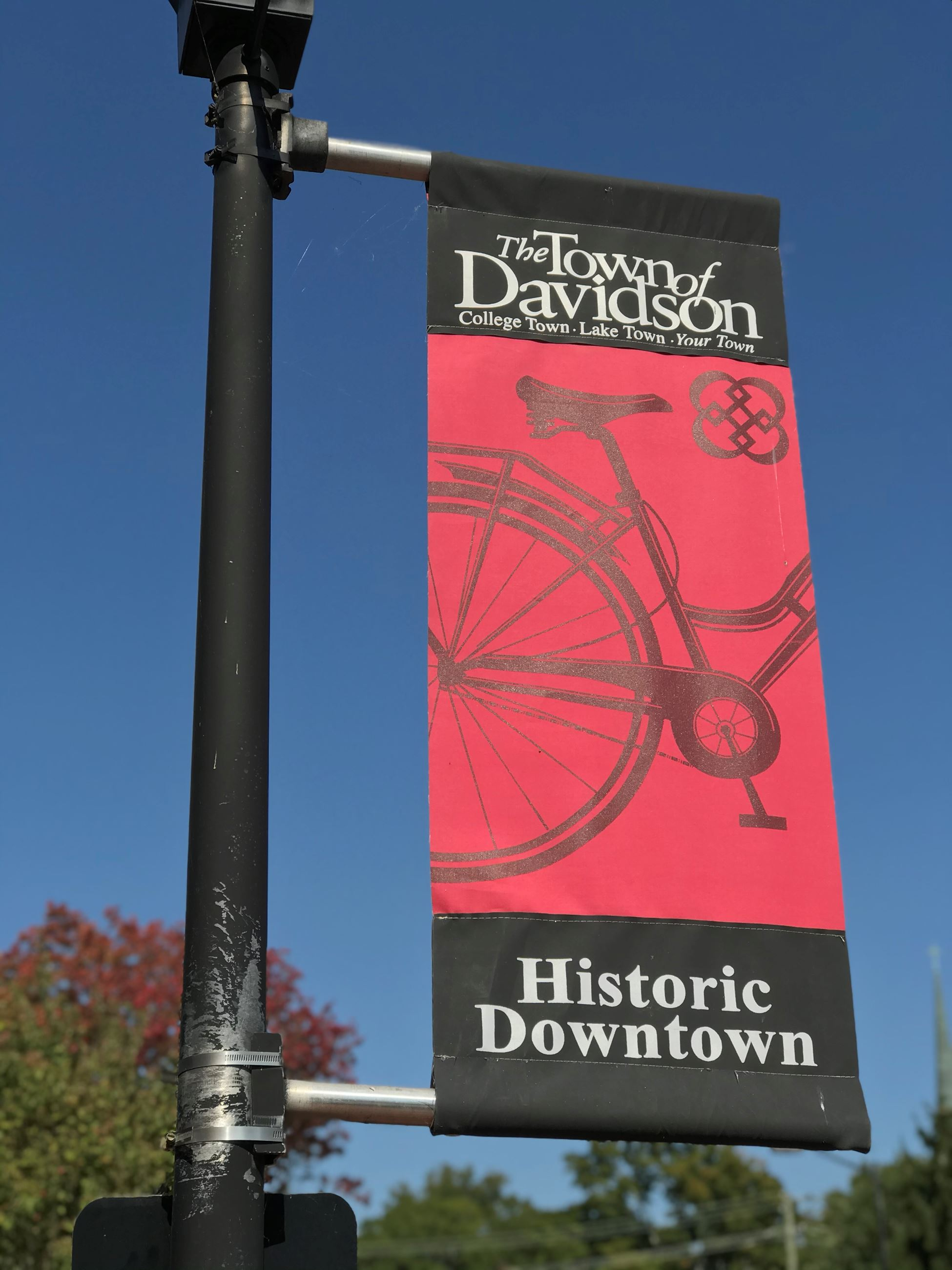 Banner in Town of Davidson