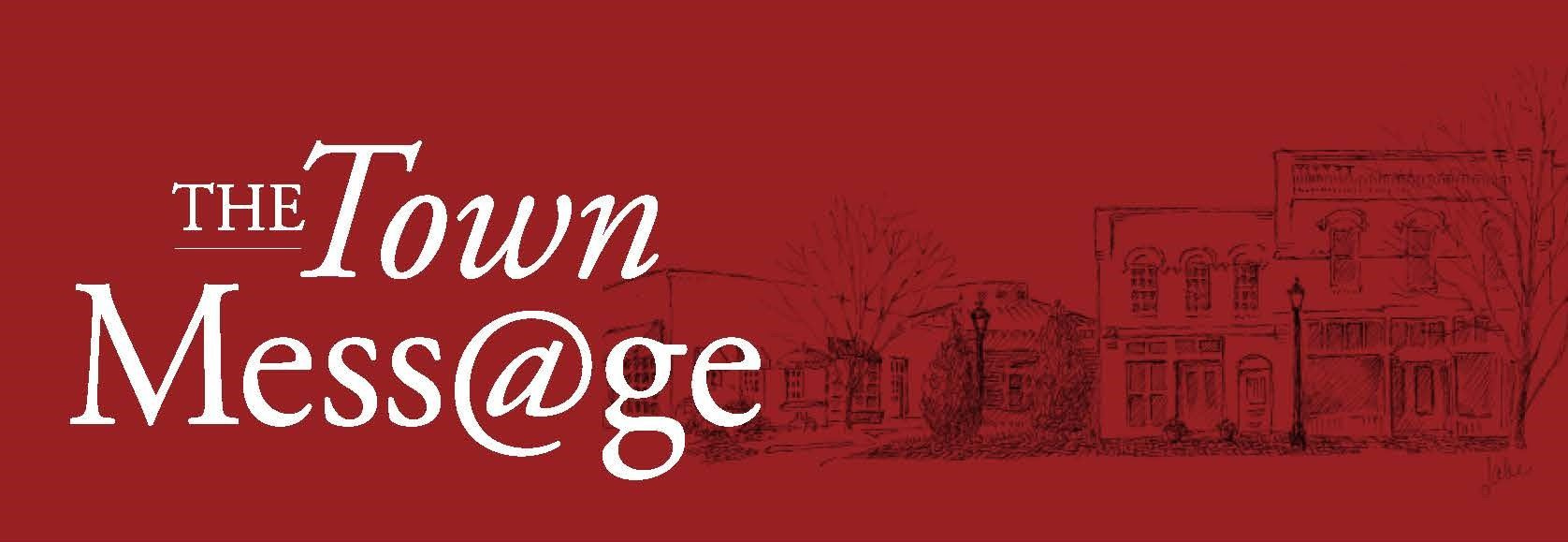 Town Message Banner 2020