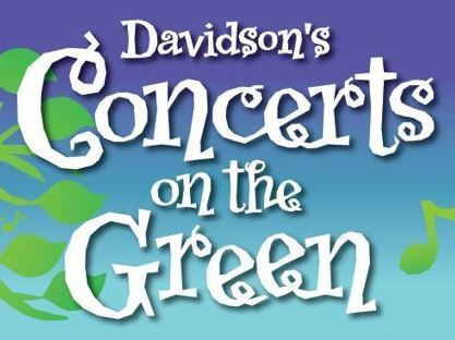 Concerts on the Green letterhead