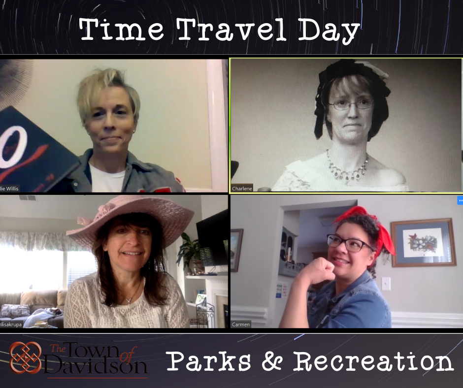 Time Travel Virtual Spring Break
