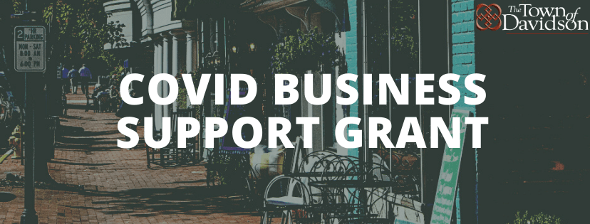 COVID Business Support Grant banner