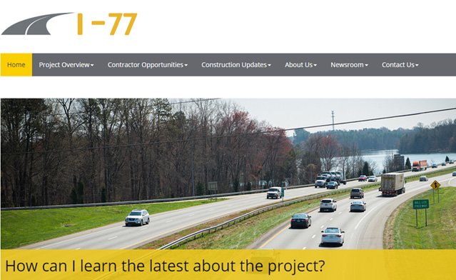I-77 Mobility Partners Image